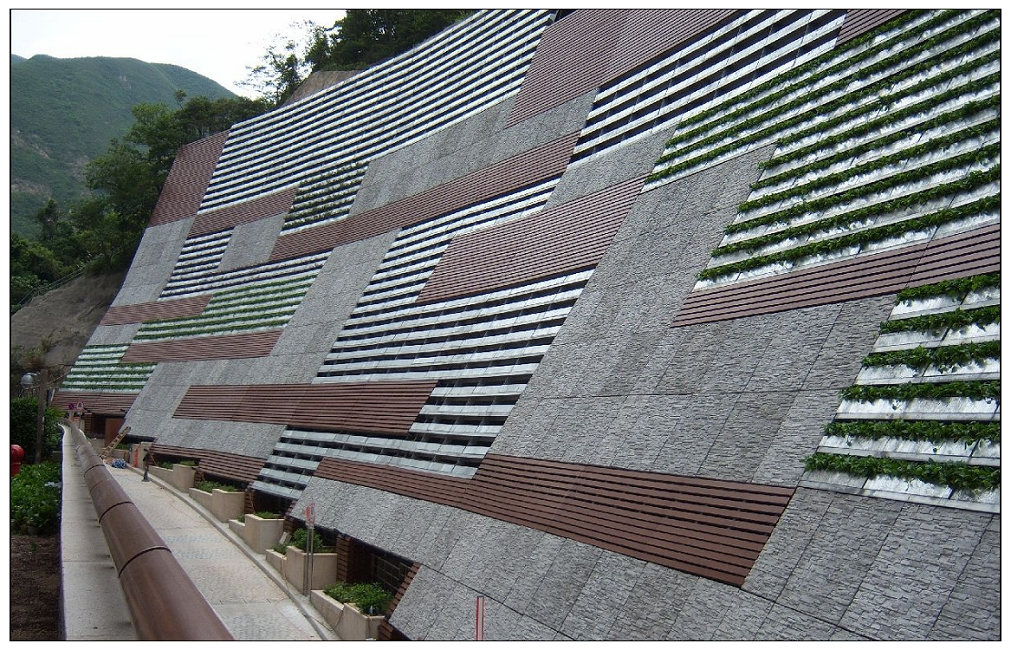 Grc Wall Cladding : Grc cladding for retaining wall